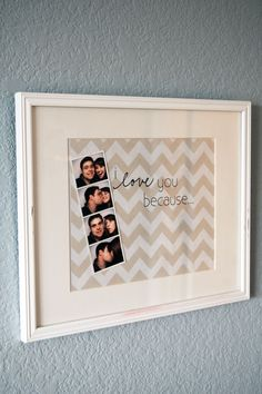chevron message board - Home - A Sweet Simple Life [ i would like to put this in our bathroom so that jose and i could write notes to eachother in the morning]