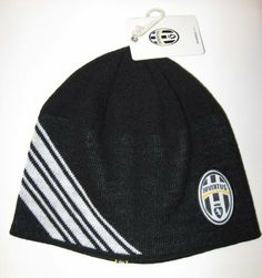 JUVENTUS SOCCER TEAM OFFICIAL BEANIE(ADULT SIZE) by Rhinox. $9.99. ONE SIZE FIT ALL(ADULT SIZE). TEAM LOGO AND COLOR. Officially Licensed Product. TEAM COLORS BLACK AND WHITE WITH JUVENTUS SHIELD.