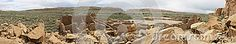 Chaco Canyon ruins of Pueblo Bonito