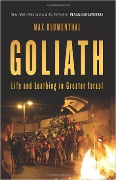 Author Max Blumenthal Offers Unfiltered View Into Israel's Commitment to Ethnic Supremacy By Rania Khalek<<http://www.informationclearinghouse.info/article36691.htm>>