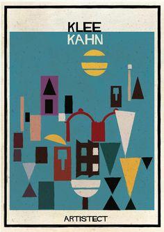 ARTISTECT : Klee x Kahn | © Federico Babina