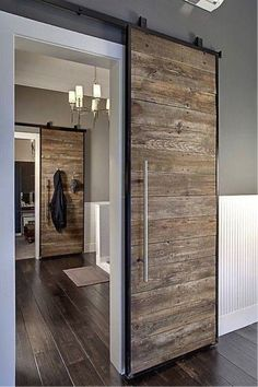 Sliding doors for downstairs??
