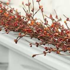 Autumn Orange Pip Berry Garland - What's New - Floral Supplies - Craft Supplies Easter Garland, Fall Garland, Farmhouse Christmas Decor, Country Christmas, Berry Garland, Irish Cottage, Floral Supplies, Brown Floral, Rustic Charm