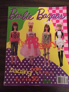 Barbie Bazaar September October 1995 Dazzling Dolls by Dick Tahsin Ricky I BB25 | eBay