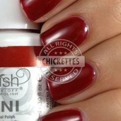 Gelish Stand Out Swatch