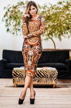 Look Thássia Naves: Vestido – A.Farra. Para comprar online: http://www.bazaroriginal.com.br/