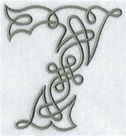 Machine Embroidery Designs at Embroidery Library! - A Celtic Knotwork Alphabet Design Pack (5 Inch Height)