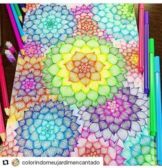 #Repost @colorindomeujardimencantado with @repostapp ・・・ Art by @nero_frozen 🎨👏🔝❤ Bommmm diaaaa pessoal! Uma quarta feira com muita cor pra vcs assim como esse colorido magnífico! 👏👏👏🎊🎈🎆🎉🌸🌿🌻🎄🎁🎅 Apaixonei nessa #mandala gente ❤❤❤ #colorindomeujardimencantado #mycreativeescape #mandalastyle #milliemarotta #johannabasford #secretgarden #jardimsecreto #FlorestaEncantada #enchantedforest #adultcoloringbook #jardimdosbroder #OceanLost #fabercastell #maped #bic #stabilo…
