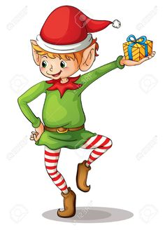 christmas elf clip art clipart craft ideas pinterest art rh pinterest com christmas elf clipart free elf clipart free black and white