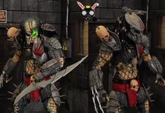 Scarface Predator (New Way Devil) (Predator) Custom Action Figure