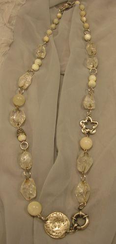 Luxurious quartz necklace- Razelle Troester