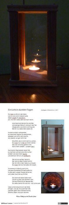 Lanterne historipque - avec un poème par Klaus Loose - une lanterne - c'est un modèle historique en provenance d'Amérique et aussi, un poème ;-)