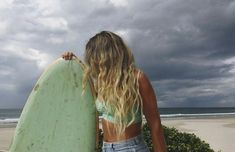 Surf :: Ride the Waves :: Free Spirit :: Gypsy Soul :: Eco Warrior :: Surf Girls :: Seek Adventure :: Summer Vibes :: Surfboard Design + Style :: Free your Wild :: See more Untamed Surfing Inspiration Surfergirl Style, Surfer Girl Hair, Salsa, Videos Photos, Cardio Training, Thing 1, Yoga Tank Tops, Videos Tumblr, Womens Workout Outfits