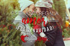 ¿Por qué no regalar amor este año por Navidad? ¡Felices fiestas!  #amor #love #regalo #present #Navidad #Christmas #pareja #latinos #latinas #citas #LatinoMeetup  www.latinomeetup.com - La comunidad líder en contactos latinos.