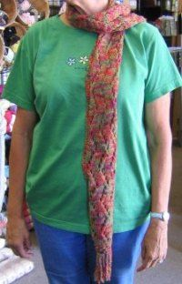 Free Knitting Pattern - Scarves: To and Fro Lace Scarf Wanna try one of these next after my 1st project....
