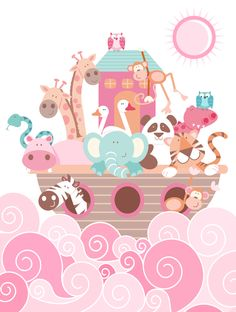 EMILY 080413 These little guys are cute! It's super pink but we could change the color scheme to be whatever you'd like! Feel free to pin colors that you'd like for the baby's room here too!