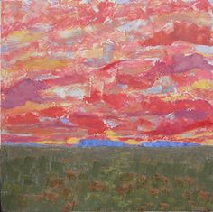 Big Sky by Connie Miller Oil ~ 36 x 36