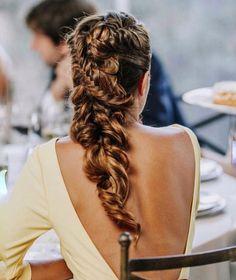 65 Badass Box Braids Hairstyles That You Can Wear Year-Round - Hairstyles Trends Box Braids Hairstyles, Romantic Hairstyles, Pretty Hairstyles, Wedding Hairstyles, Breaking Hair, Wedding Hair Inspiration, Pinterest Hair, Hair Dos, Gorgeous Hair