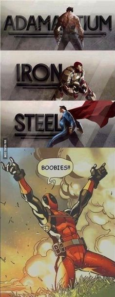 This is why we love deadpool