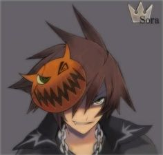 The best Halloween Town Sora I have seen.