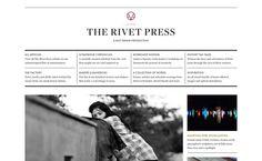 The Rivet Press – design by Stuart Hobday