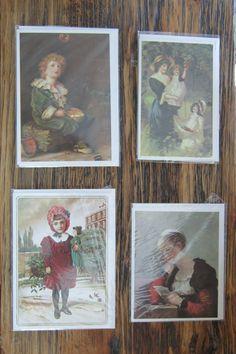 Vintage Greeting Cards Blank Kirkpatrick Cards by VistaChick