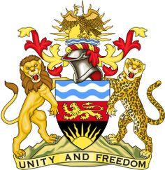 Brasão de armas de Malawi. Coat of arms of Malawi.