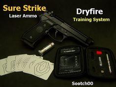 Sure Strike Laser Ammo Dry Fire Training - YouTube