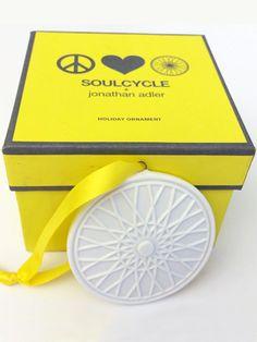 Holiday Joy Ride: Jonathan Adler's Christmas Tree Ornament for SoulCycle