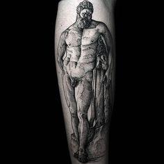 """@doskaladas on Instagram: """"@letr0set me pidió el maravilloso """"Hércules Farnesio"""", para mí semana en Zaragoza, y no puedo estar más agradecido por la confianza y por…"""" Hercules Tattoo, Sleeve Tattoos, Skull, Instagram, Ideas, Grateful, Zaragoza, Confidence, Tattoo Sleeves"""