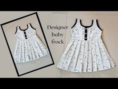 Saree Kuchu Designs, Salwar Neck Designs, Fancy Blouse Designs, Cotton Frocks For Kids, Frocks For Girls, Kids Frocks Design, Baby Frocks Designs, Baby Girl Dress Patterns, Baby Clothes Patterns