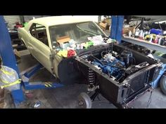 1969 Ford Mustang Restoration New Time for the New Lime part 14 Mustang ...