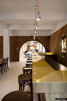 cool-- office and happy hour in one.    Pinkeye Design Studio Office //
