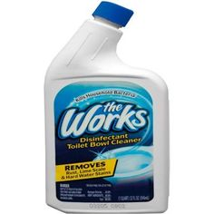 Disinfectant Toilet Bowl Cleaner by Thr Works  The Works Bathroom Cleaner Check more at http://www.showerremodels.org/5737/the-works-bathroom-cleaner.html