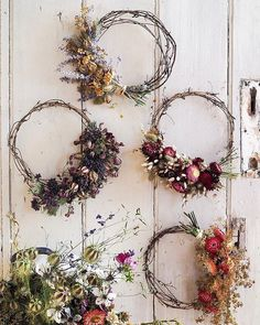 Dried Flower Wreaths For Sale — Botanical Tales - Wreath Wreaths For Sale, Spring Door Wreaths, How To Make Wreaths, Christmas Wreaths, Summer Wreath, Art Floral, Dried Flower Wreaths, Dried Flowers, Floral Wreaths