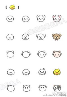 Drawing Doodles Sketches Simple drawing for kids Cute Easy Drawings, Kawaii Drawings, Doodle Drawings, Animal Drawings, Doodle Art, Pencil Drawings, Drawing Animals, Simple Drawings For Kids, Kawaii Doodles