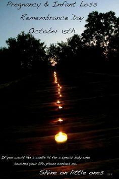 pregnancy and infant loss remembrance day Oct 15