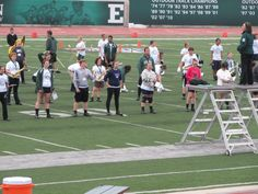 EMU Marching Band - Practice
