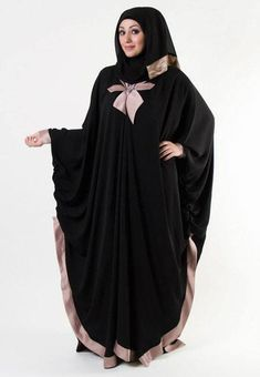 ce7945d11c025 Hijab Style With Abaya-12 Chic Ways To Wear Abaya With Hijab