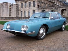 Studebaker Avanti  In my opinion, one of the top five most beautiful cars ever made.