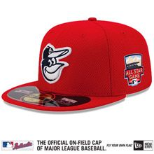 Baltimore Orioles Authentic Collection Home Run Derby Diamond Era On-Field 59FIFTY Cap with 2014 All-Star Patch