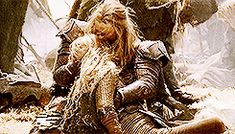 Eomer and Eowyn- You wanna know what heartbreak is? This is it right here. Not your boyfriend breaking up with you, no, finding your sister who wasn't supposed to be there in the first place unconscious, at first glance dead, next to your dead uncle. That is heartbreak.