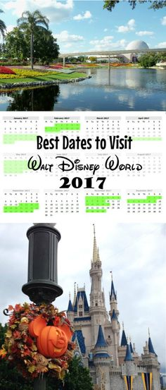 Best dates Disney World 2017 - when you travel makes all the difference - Disney vacation planning tips