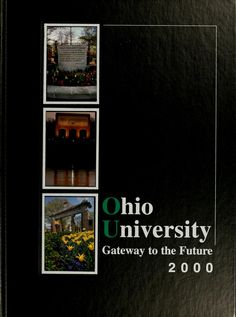 Athena Yearbook, 2000. Click image to see the entire yearbook :: Ohio University Archives