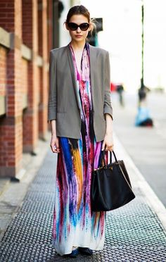 The Right Way to Wear a Maxi Dress (No Flip-Flops Allowed!) via @WhoWhatWear