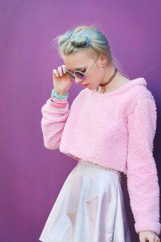 I'm a Barbie girl! Estilo Indie, Estilo Grunge, Grunge Goth, Pastel Grunge, Moda Grunge, Pastel Goth, Pastel Pink, Harajuku Fashion, Kawaii Fashion