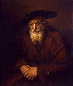 Portrait of an Old Jew, 1654 (Rembrandt van Rijn)