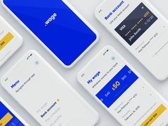 Wage designed by Anatoly. Connect with them on Dribbble; the global community for designers and creative professionals. Ui Design Mobile, App Ui Design, Mobile Ui, Web Design, Tree Tech, Web Inspiration, Show And Tell, Interactive Design, Mobile Application