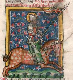 Jacobus : Legenda sanctorum aurea, verdeutscht in elsässischer Mundart [u.a.] 1362 Cgm 6 Folio 162