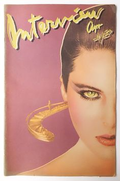 Andy Warhol's Interview Magazine 1980 vol.X no.4: Catherine Oxenberg
